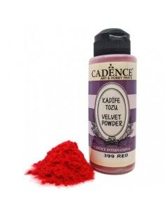 VELVET POWDER RED 399 POLVO...